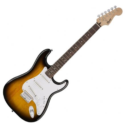 Squier Bullet Strat Hard Tail Brown Sunburst